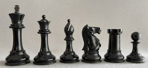 F. H. Ayres Club Size Chessmen.