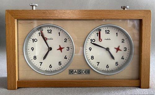 Garde Analog Chess Clock