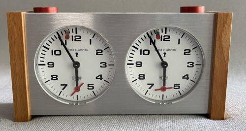Heuer Chess Champion Clock