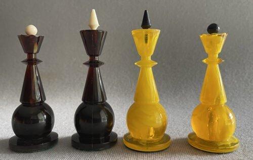 Soviet Ambriod Chess Set
