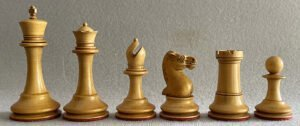 Richard Whitty Tournament Chessmen