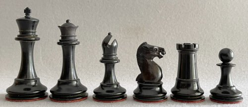 Richard Whitty Tournament Chessmen
