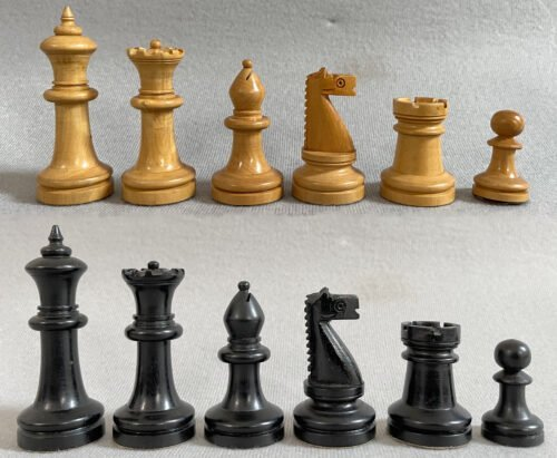 American Chess Company Library Size Chessmen