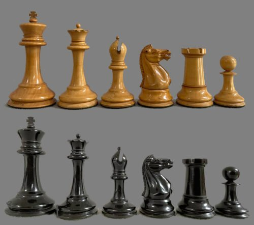 Jaques Anderssen Chessmen, Small Club Size