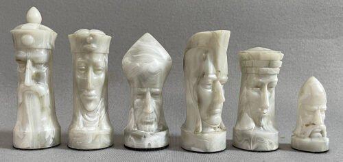 Sculptured Gothic Chess Tournament Edition