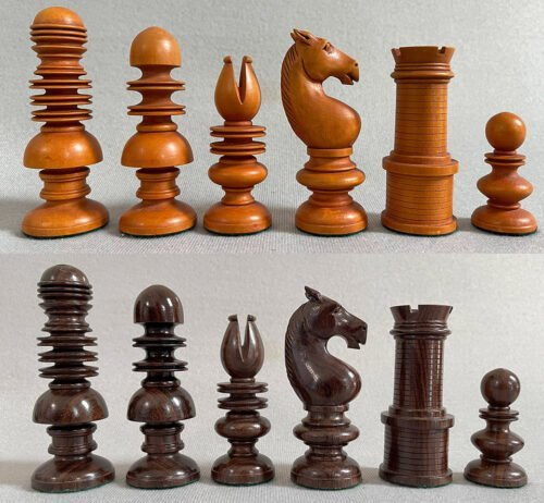 Old English Style Chessmen Reproduction