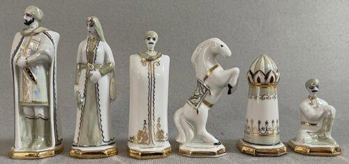 Soviet Kislovodsk Porcelain Chessmen